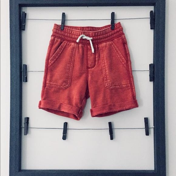 GENUINE KIDS FROM OSHKOSH Boys Knit Cargo SHORTS SIZE-3T NEW